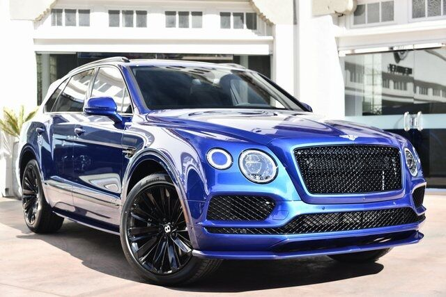 2020 Bentley Bentayga Speed  Beverly Hills CA