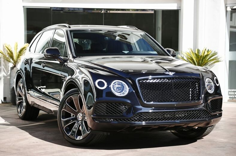 2020 Bentley Bentayga V8  Beverly Hills CA