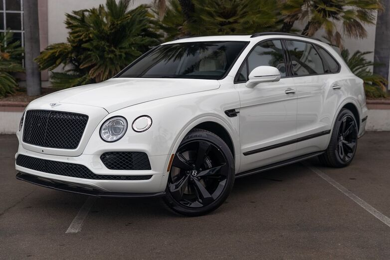 2020 Bentley Bentayga V8 Black Edition  San Diego CA