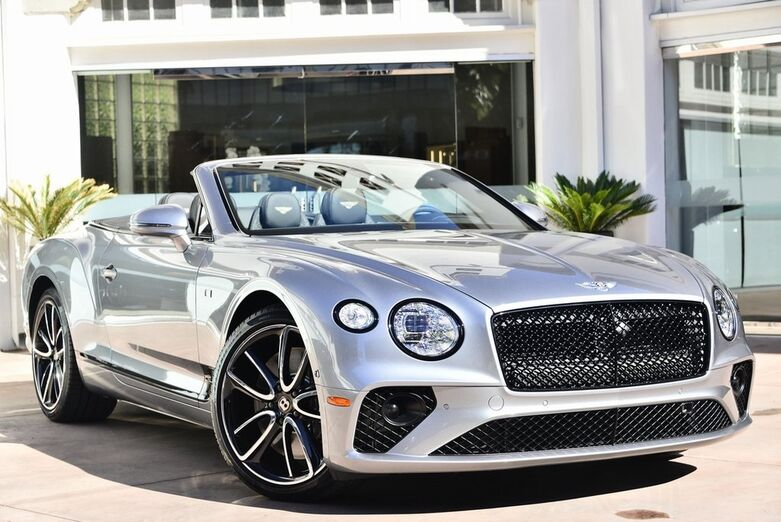 2020 Bentley Continental GT First Edition Convertible  Beverly Hills CA