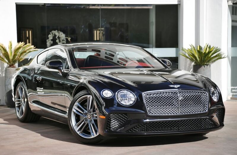 2020 Bentley Continental GT V8 Coupe  Beverly Hills CA