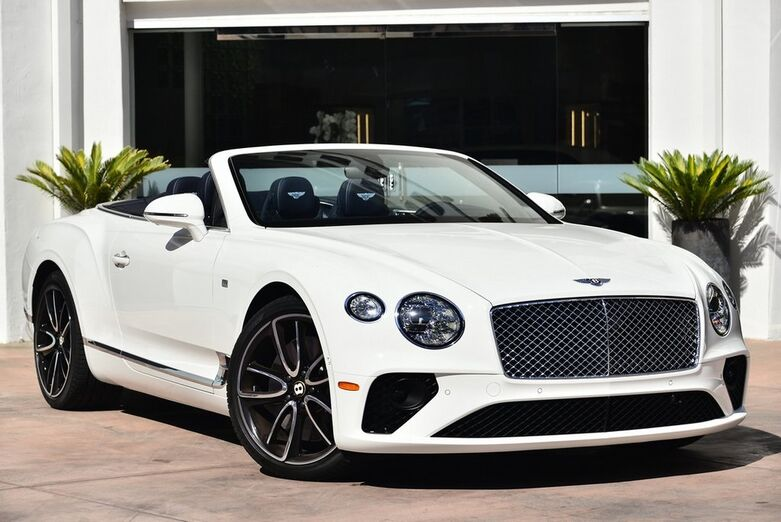2020 Bentley Continental GT V8 First Edition Convertible  Beverly Hills CA