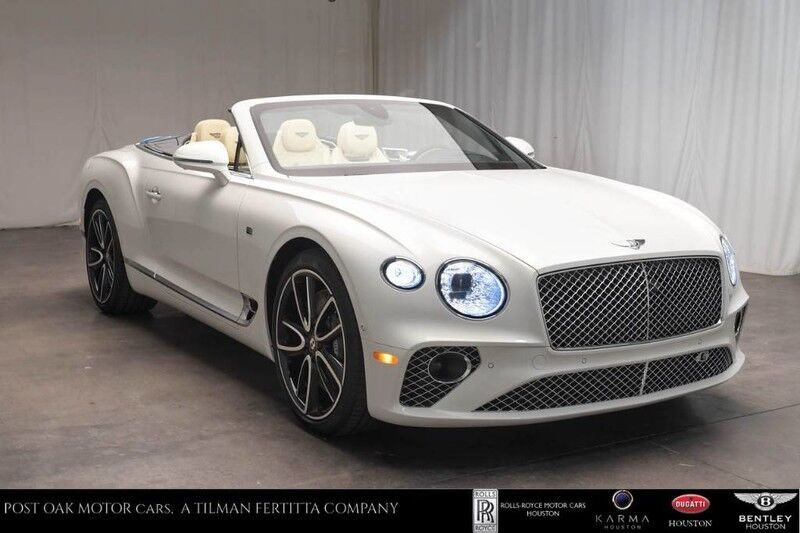 2020 Bentley Continental GTC First Edition Houston TX