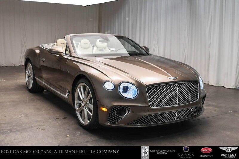 2020 Bentley Continental GTC W12 Houston TX