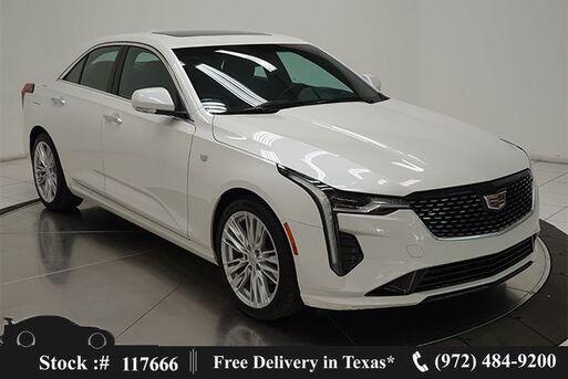 2020_Cadillac_CT4_Premium Luxury CAM,SUNROOF,CLMT STS,PARK ASST,18IN_ Plano TX