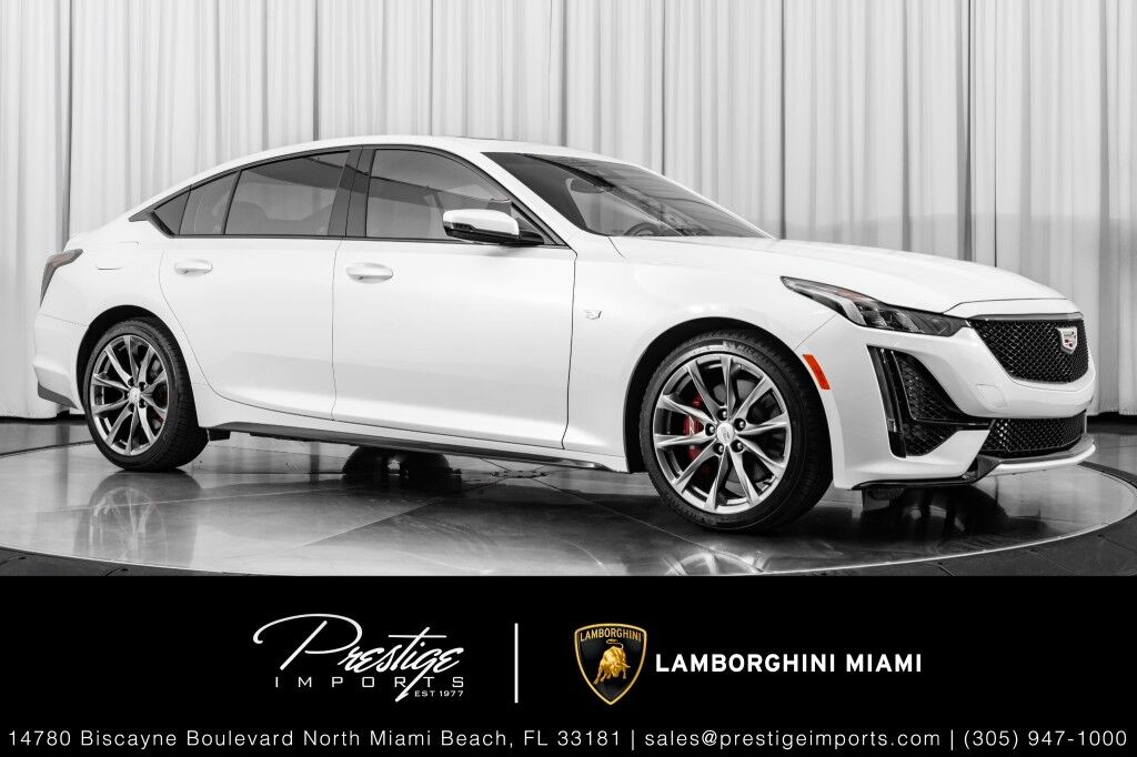 2020_Cadillac_CT5_Sport_ North Miami Beach FL