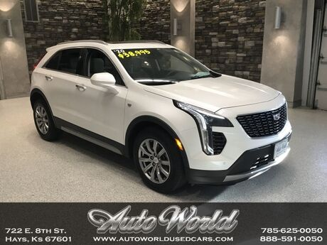 2020 Cadillac XT4 PREMIUM LUXURY AWD  Hays KS