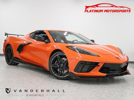 2020_Chevrolet_Corvette Z51 2LT_1 Owner Magnetic Ride Front Lift GT2 Seats Carbon Fiber Ground Effects_ Hickory Hills IL