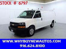 2020_Chevrolet_Express 2500_~ Extended Length ~ Ladder Rack & Shelves ~ Only 32K Miles!_ Rocklin CA