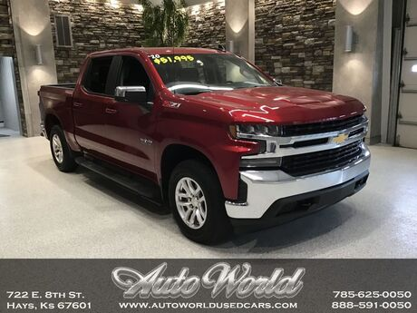 2020 Chevrolet SILVERADO LT CREW 4X4  Hays KS