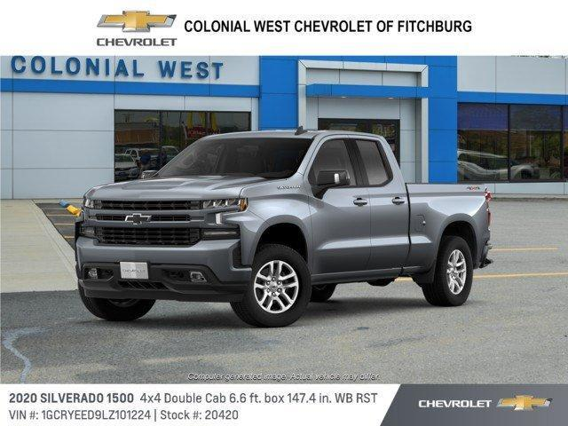 2020 Chevrolet Silverado 1500 4WD Double Cab 147 RST Fitchburg MA