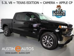 2020_Chevrolet_Silverado 1500 Crew Cab LT_*5.3L V8 ECOTEC, TEXAS EDITION, BACKUP-CAMERA, COLOR TOUCH SCREEN, HEATED SEATS/STEERING WHEEL, REMOTE START, 20 INCH WHEELS, APPLE CARPLAY_ Round Rock TX