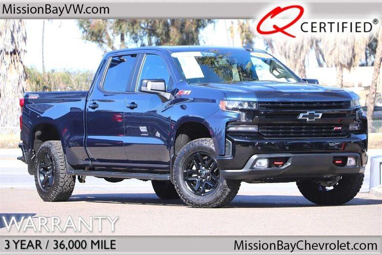 2020 Chevrolet Silverado 1500 LT Trail Boss LEATHER San Diego CA