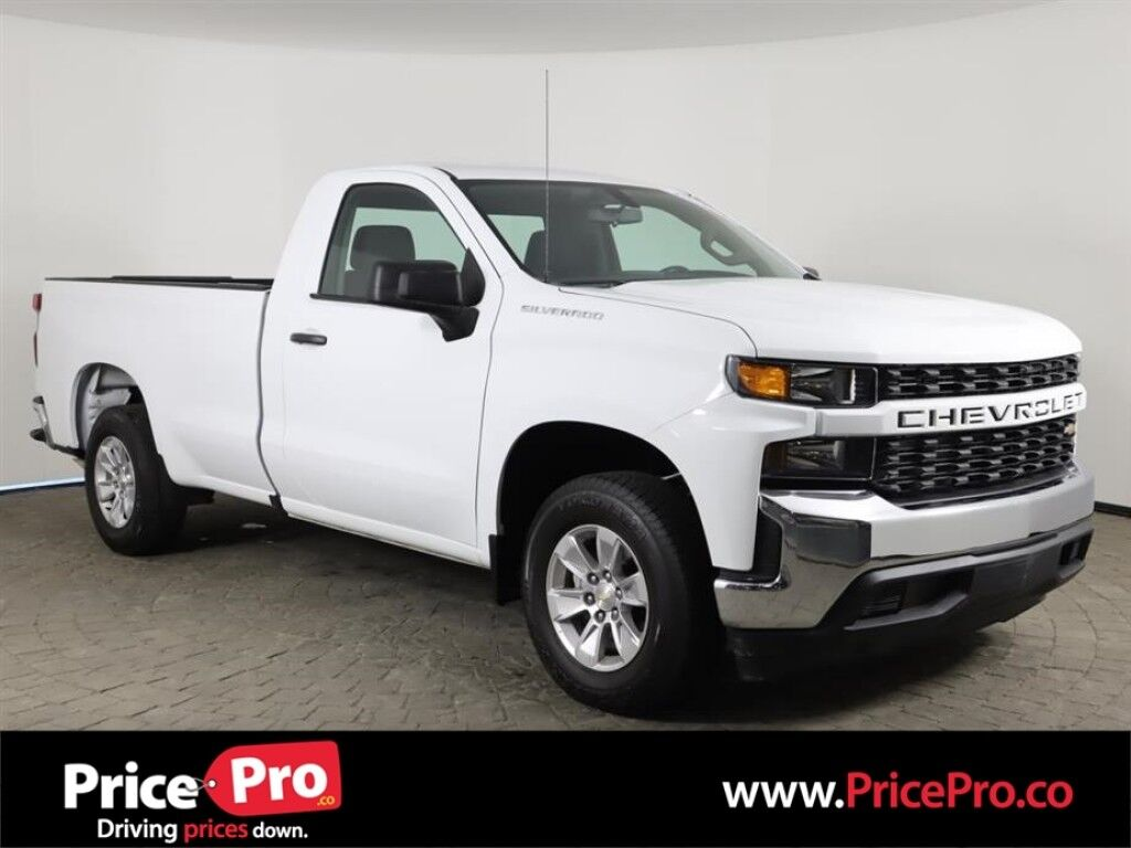 2020 Chevrolet Silverado 1500 Reg Cab Long Bed 5.3L V8