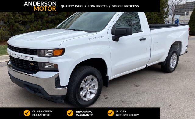 2020 Chevrolet Silverado 1500 Work Truck 2WD Salt Lake City UT