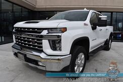 2020_Chevrolet_Silverado 2500HD_LTZ / Z71 Off Road Pkg / 4X4 / 6.6L V8 / Crew Cab / Auto Start / Heated & Cooled Leather Seats / Heated Steering Wheel / Sunroof / Lane Departure & Blind Spot Alert / Back Up Camera / Bed Liner / Tow Pkg / 1-Owner_ Anchorage AK