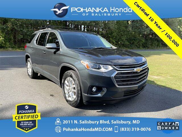 2020 Chevrolet Traverse LT 1LT ** Pohanka Certified 10 Year / 100,000 ** Salisbury MD