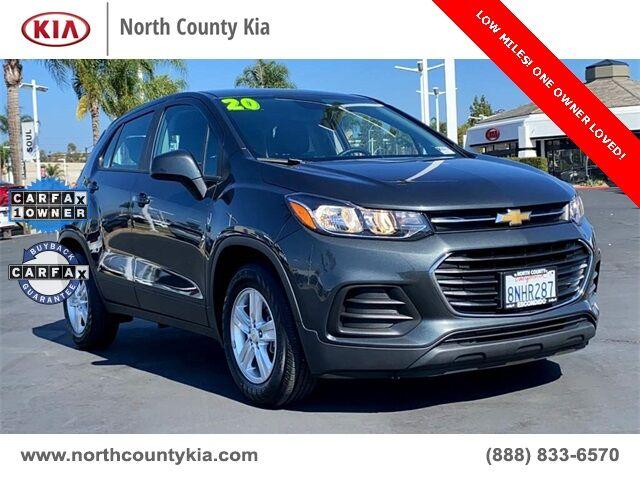 2020 Chevrolet Trax LS San Diego County CA
