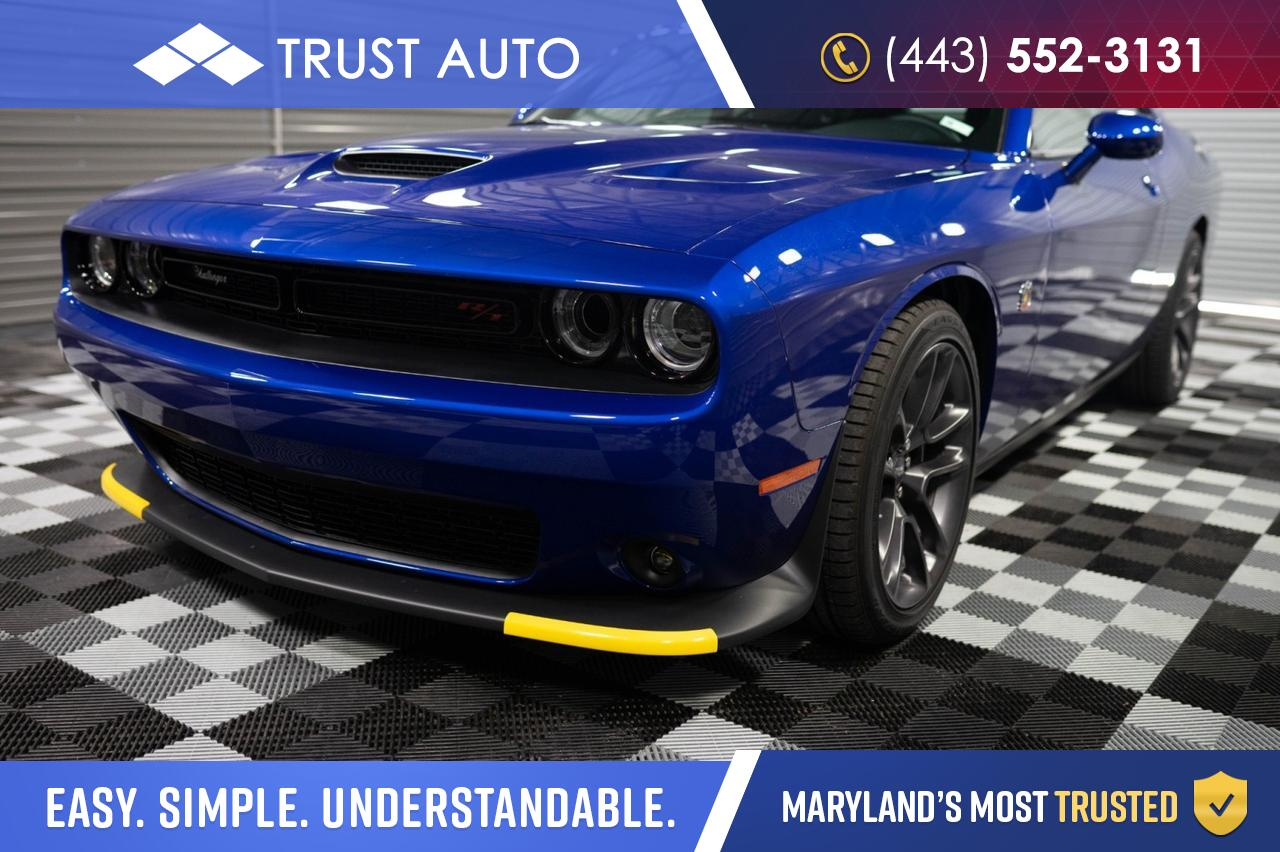 2020 Dodge Challenger R/T Scat Pack RWD 2-Door Sport Coupe Manual Sykesville MD