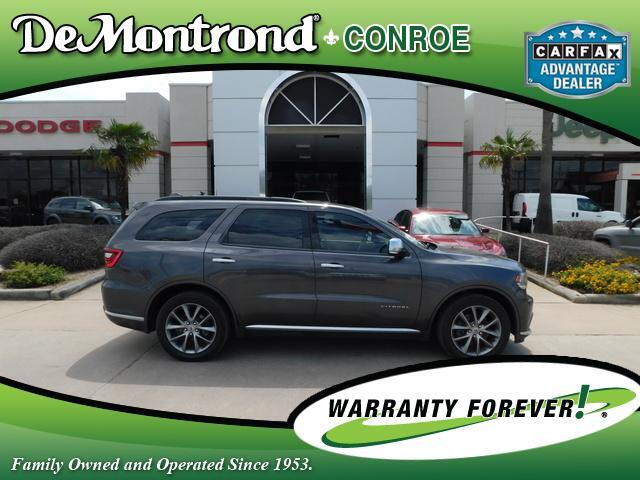2020 Dodge Durango Citadel Anodized Platinum RWD Conroe TX