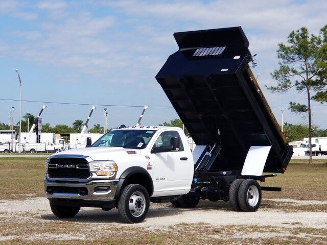 2020 Dodge RAM5500 Tradesman 11' Steel Dump Truck with Hoist Homestead FL