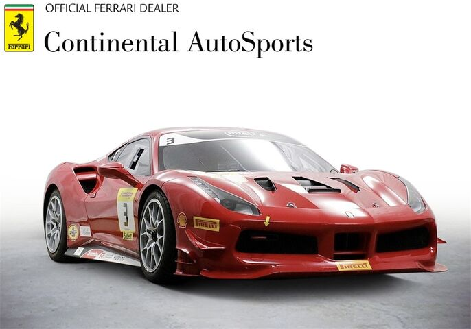 2020 Ferrari 488 Gtb Challenge Race Car For Sale In Chicago Il