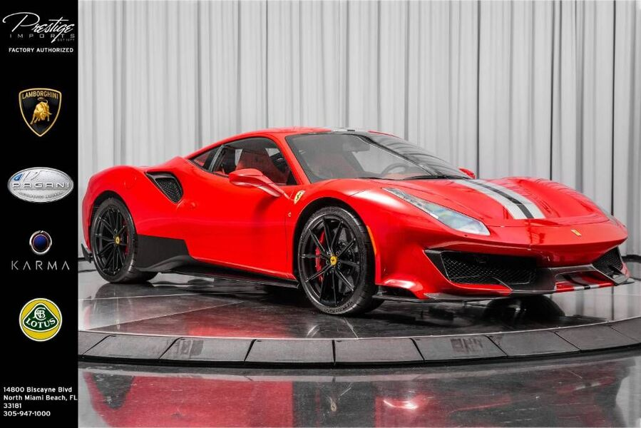 2020_Ferrari_488 Pista__ North Miami Beach FL