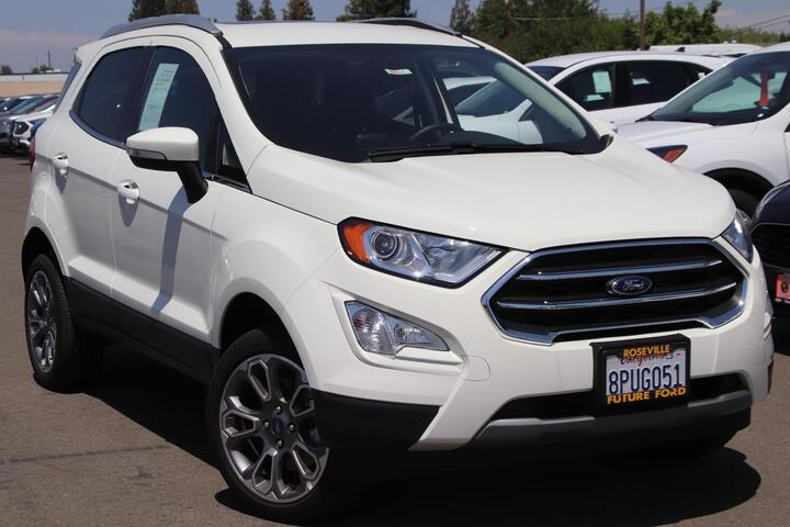 2020 Ford ECOSPORT Titanium Roseville CA
