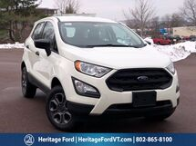 2020 Ford EcoSport S South Burlington VT