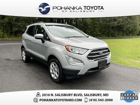 2020_Ford_EcoSport_SE_ Salisbury MD