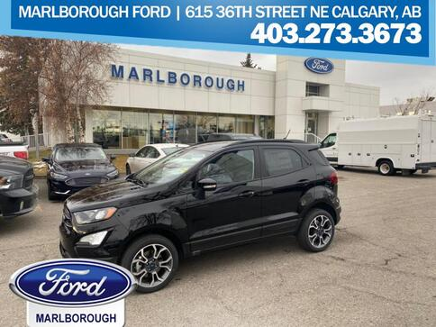 2020_Ford_EcoSport_SES 4WD  - Sunroof -  Navigation_ Calgary AB