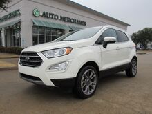 2020_Ford_EcoSport_Titanium HEATED SEATS, APPLE CAR PLAY, ANDROID AUTO, BACKUP CAM,_ Plano TX
