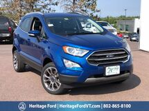 2020 Ford EcoSport Titanium South Burlington VT