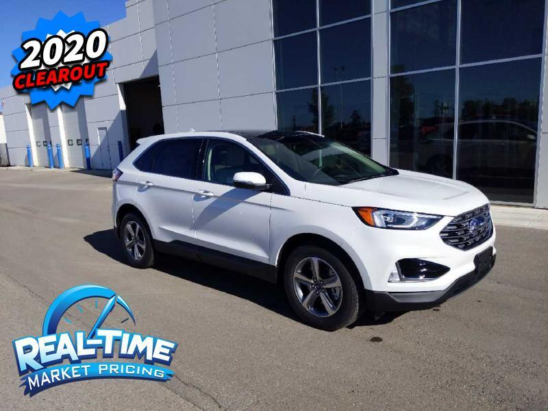 2020_Ford_Edge_SEL_ Claresholm AB