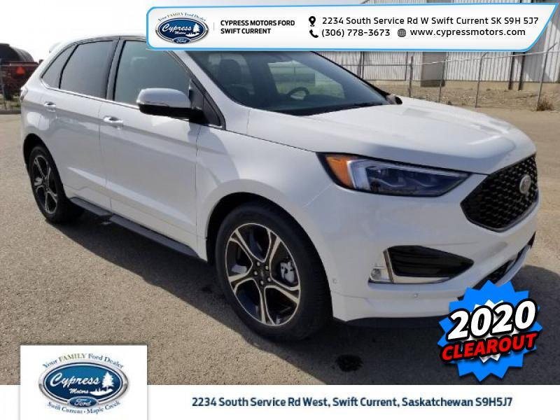 2020 Ford Edge ST  - Leather Seats -  Heated Seats - $344 B/W Swift Current SK
