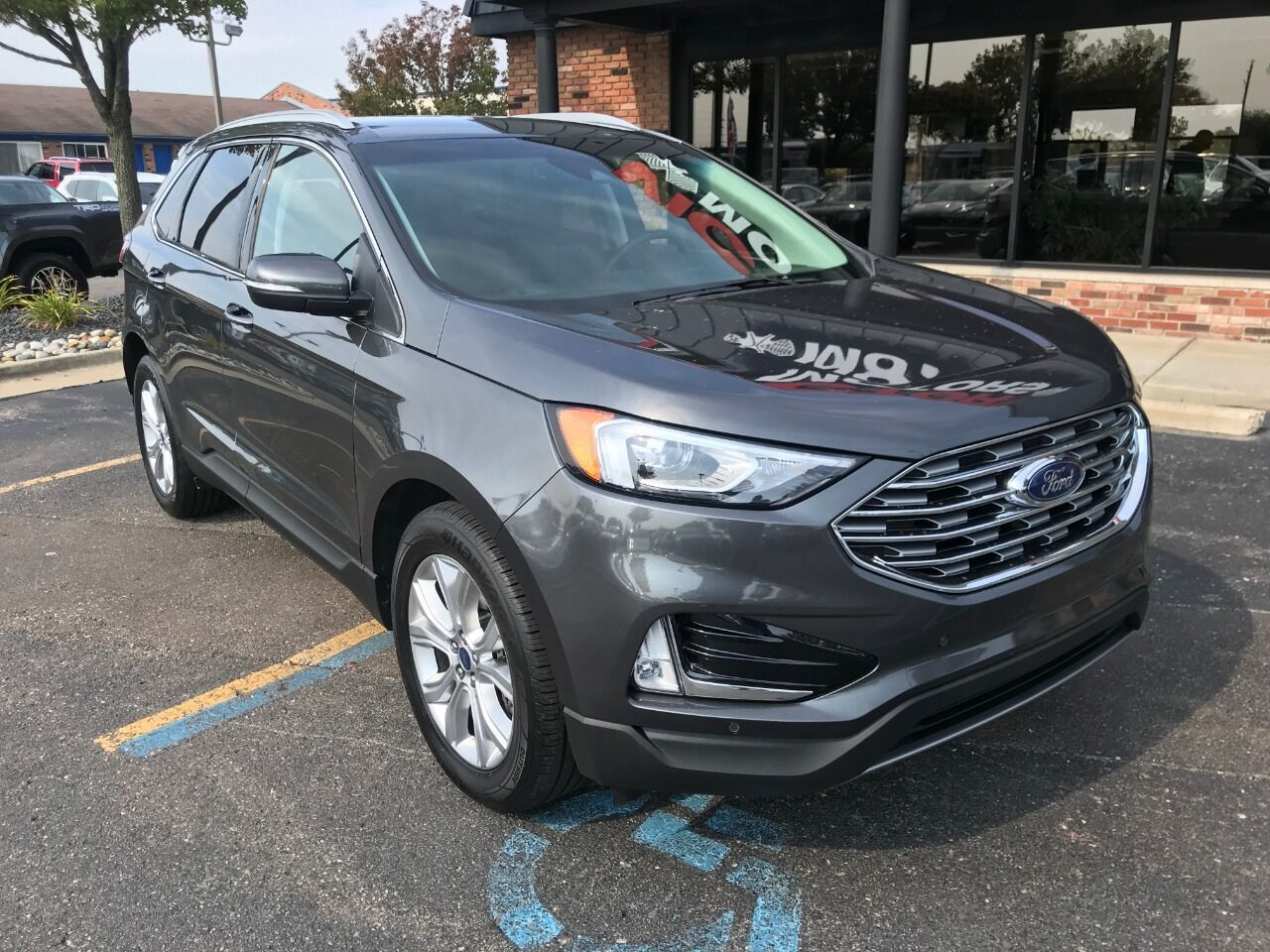 2020 Ford Edge Titanium AWD 4dr Crossover Chesterfield MI