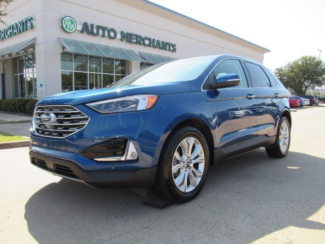 2020 Ford Edge Titanium ECO BOOST, SUNROOF, PREMIUM AUDIO, COOLED/HEATED SEATS, CAR PLAY, REAR HEATED SEATS Plano TX