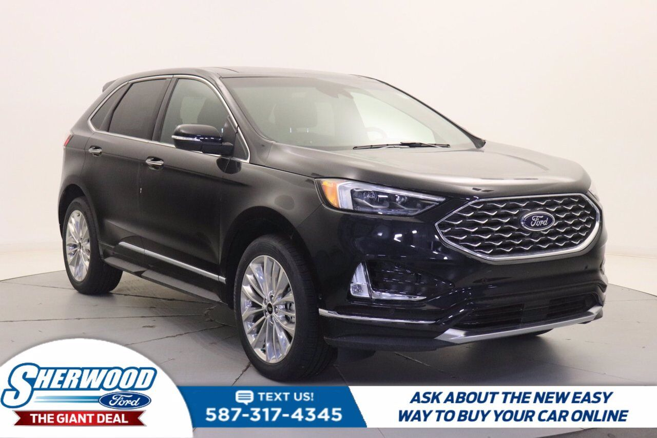 2020 Ford Edge Titanium Sherwood Park AB