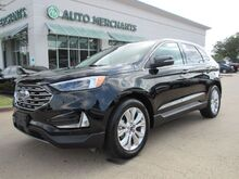 2020_Ford_Edge_Titanium****Apple CarPlay and Android Auto**Leather Trimmed Seats With 10-Way Htd Dr/Pa & Dr Mem_ Plano TX