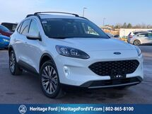 2020 Ford Escape Hybrid Titanium South Burlington VT