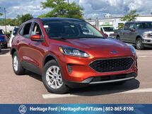 2020 Ford Escape SE South Burlington VT