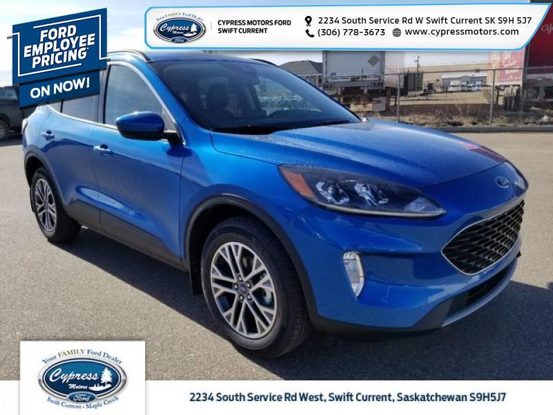 2020 Ford Escape SEL  - Heated Seats - $243 B/W Swift Current SK