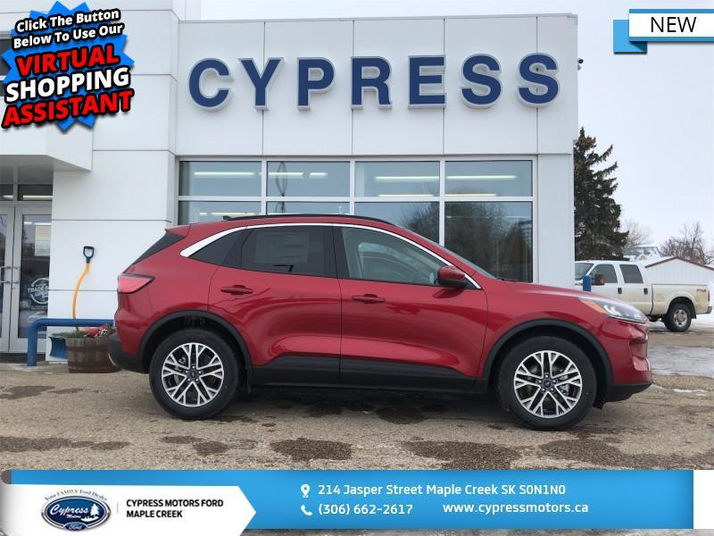 2020 Ford Escape SEL 4WD  - Heated Seats - $250 B/W Maple Creek SK