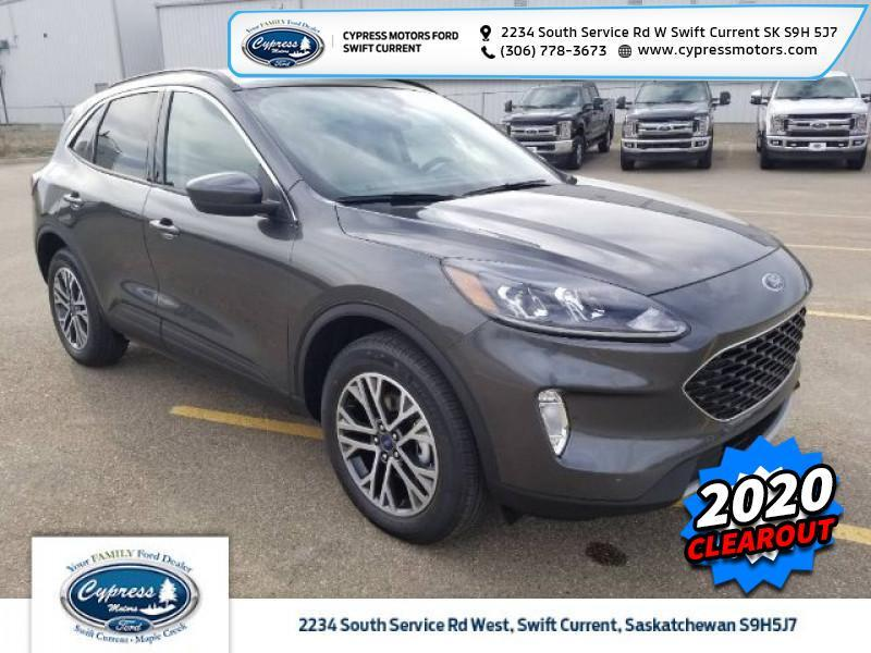 2020 Ford Escape SEL 4WD  - Sunroof - Heated Seats - $266 B/W Swift Current SK
