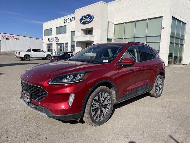 2020 Ford Escape Titanium Hybrid AWD - LEATHER REMOTE START Calgary AB