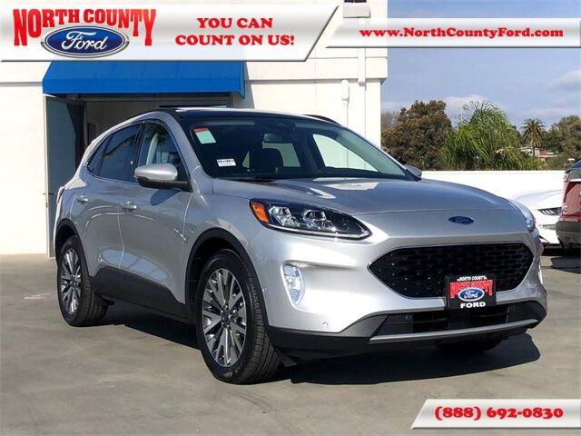 2020 Ford Escape Titanium Hybrid San Diego County CA