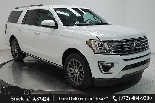 2020_Ford_Expedition Max_Limited NAV,CAM,CLMT STS,BLIND SPOT,3RD ROW_ Plano TX