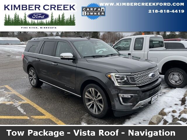 2020 Ford Expedition Max Platinum Pine River MN