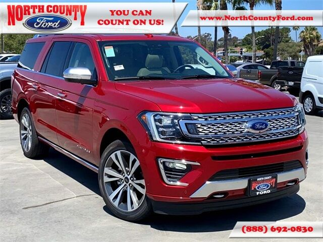 2020 Ford Expedition Max Platinum San Diego County CA