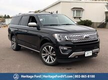 2020 Ford Expedition Max Platinum South Burlington VT